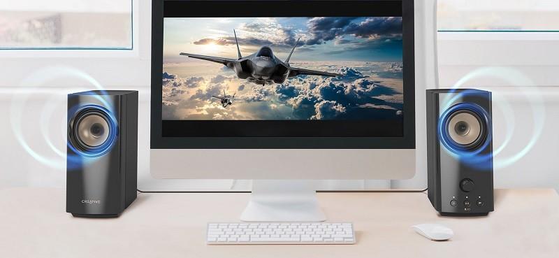 桌上娛樂及工作兩相宜,Creative 推出全新 T60 桌上型喇叭