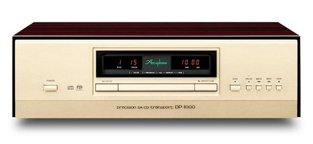 五十周年紀念型號登場,ACCUPHASE 推出旗艦 SACD / CD 轉盤 DP-1000