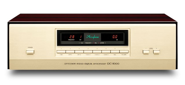 五十周年紀念型號登場(二),ACCUPHASE 推出旗艦解碼器 DC-1000