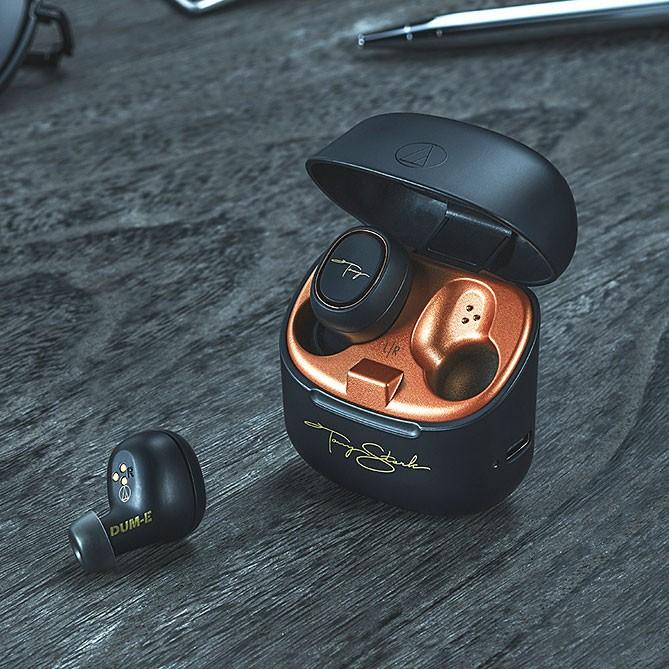 Audio-Technica 正式發表三款 Marvel 聯名《鋼鐵人》系列真無線耳機