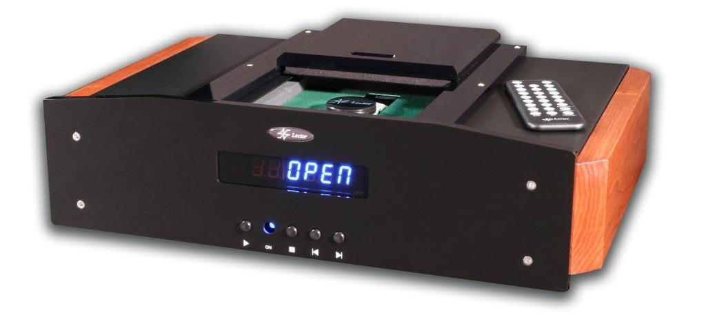 意大利 LECTO R DIGIDRIVE TL-3 頂置式 CD 轉盤