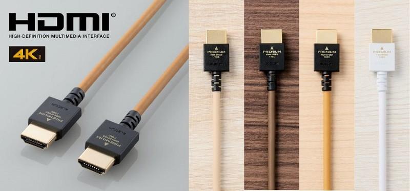 線材 lifestyle 化,ELECOM 推出全新DH-HDP14EY 系列  HDMI 線材