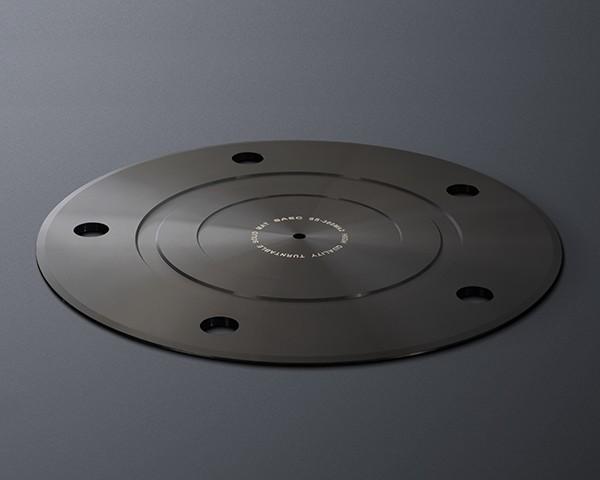 SAEC 推出全新 SS-300Mk2 高精度鋁合金黑膠轉盤墊