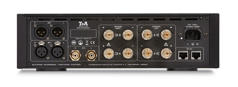 德國小鋼炮(三),T+A 推出全新 A200 後級放大器