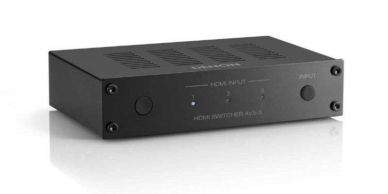 Denon 及 Marantz 推出 AVS-3 及 VS3003 兩部 8K 選擇器