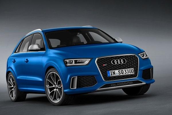 本週末 Audi RS Q3 又一城車展 (2014 年 7 月 12-13 日)