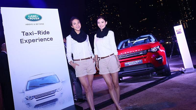 Land Rover 全新 Discovery Sport 首度亮相香港