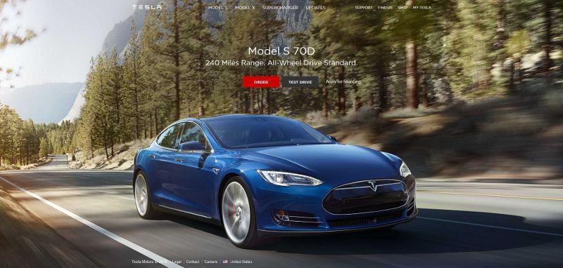 Tesla 推出全新 Model S 70D