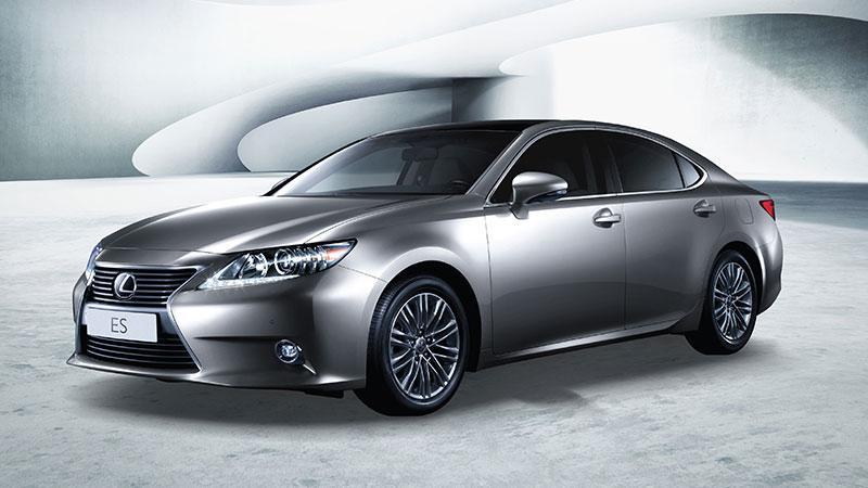 尊享 2015 New Lexus ES 五重優惠