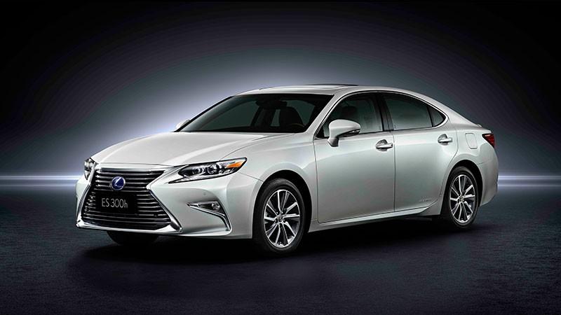 全新 Lexus ES 正式於上海面世