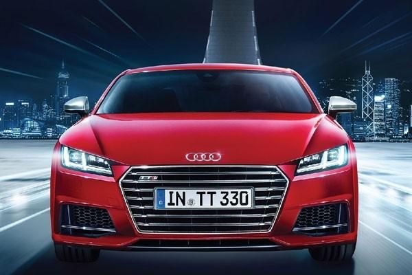 全新 Audi TT 震撼登場 本週三至日海運大廈車展