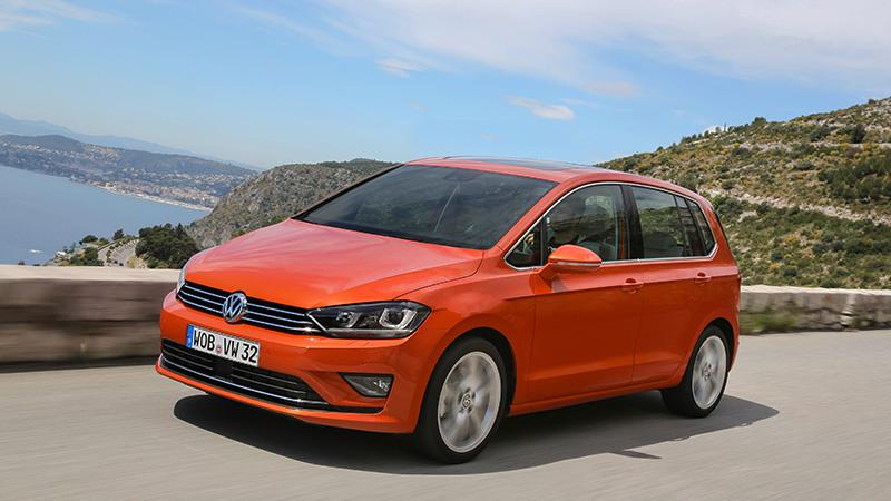 Volkswagen 全新 Golf Sportsvan