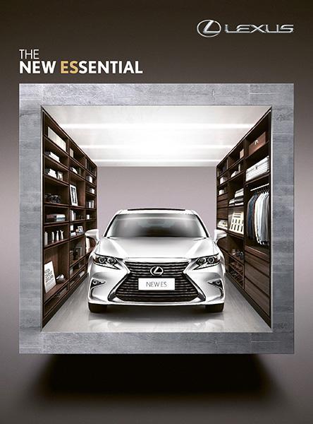 「Lexus NEW ES 登場首展」本週末假海運大廈舉行