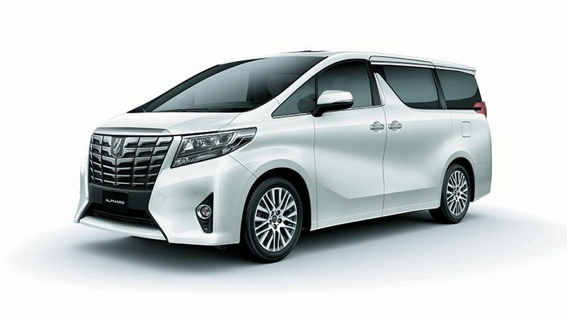 Toyota Luxury MPV 年度車展駕臨灣仔陳列室延續強勢