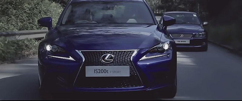 純本地製作汽車影片  Lexus IS 帶你穿越時空