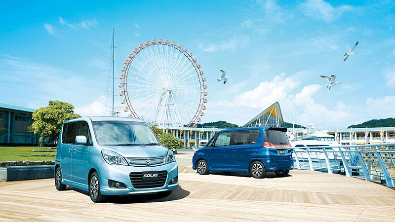 Suzuki Solio cMPV 繽紛色彩大派對  全色車系尊享 $10,000 折扣