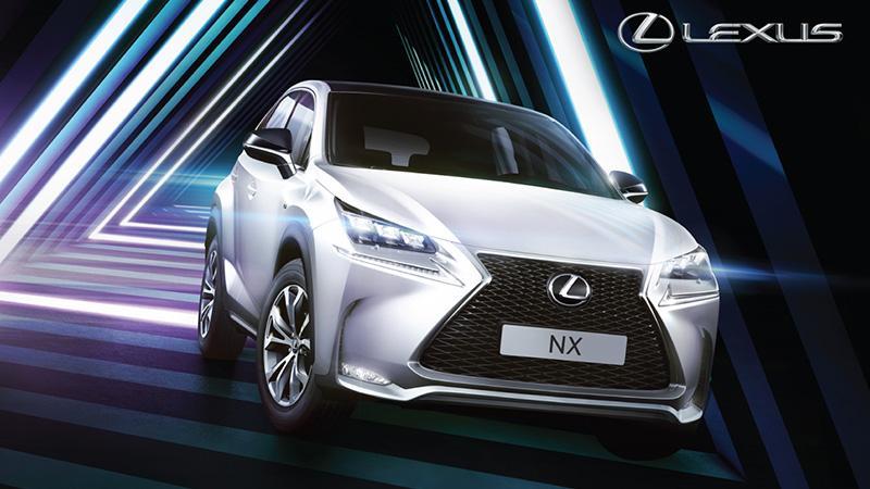本週末「Lexus Motor Show」於沙田新城市廣場三期舉行
