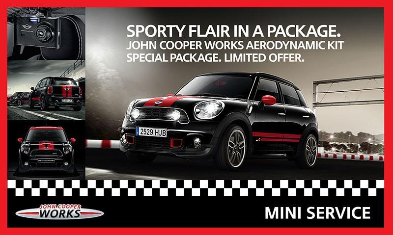 John Cooper Works Pro Aerodynamic Kit