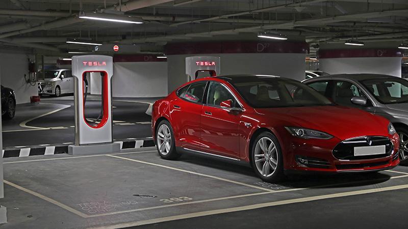 Tesla 第 10 個香港 Supercharger 超級充電站正式啟用