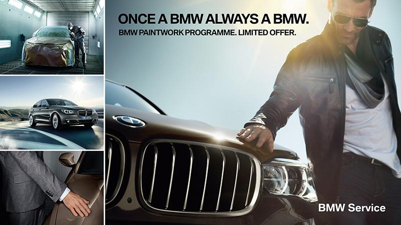往昔完美再現  BMW 原廠噴漆服務計劃