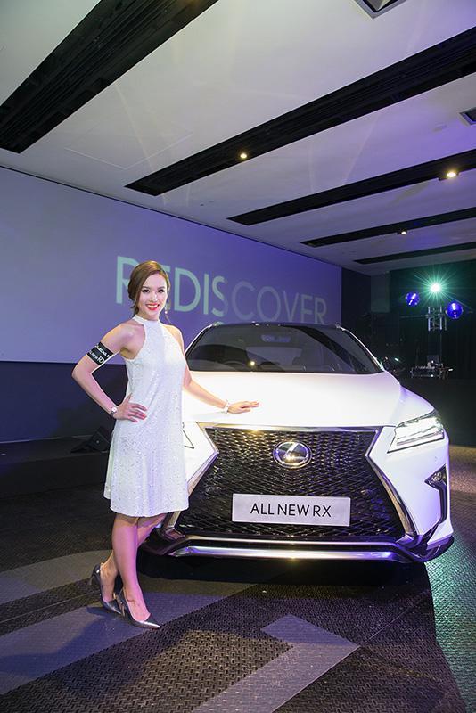全新 Lexus RX – REINVENTING AMAZING