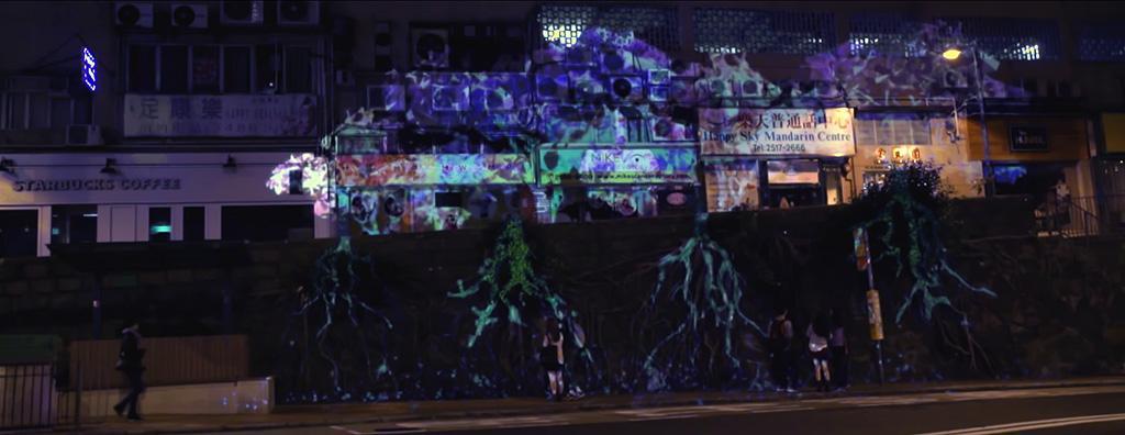 LEXUS [PRO:JECT RX] - 以光影藝術為城市注入新想像