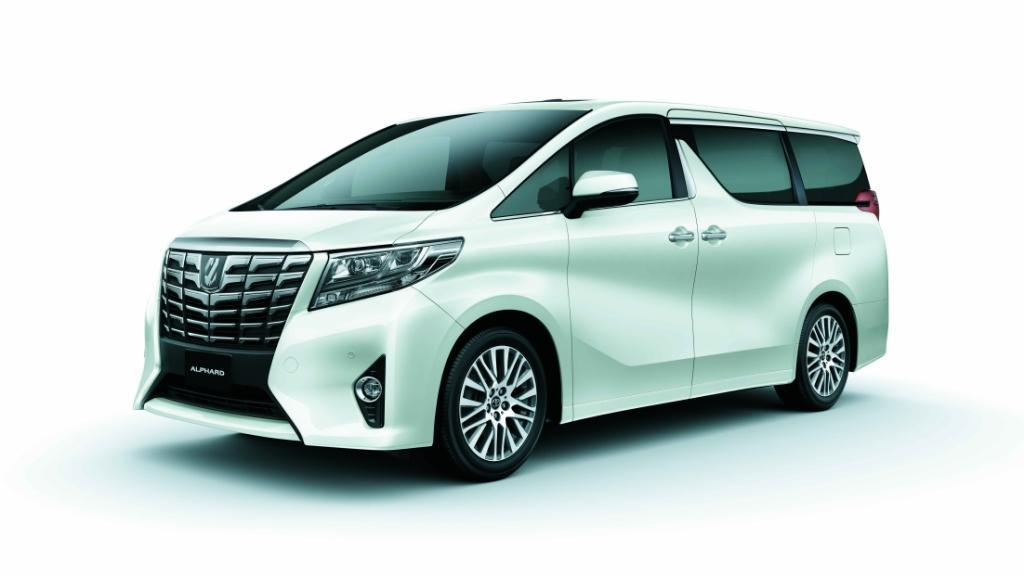 Toyota Luxury MPV 年度車展駕臨灣仔陳列室