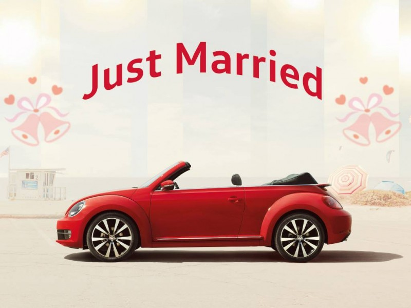 """Volkswagen「Say """"I Do"""" with Beetle」花車計劃"""