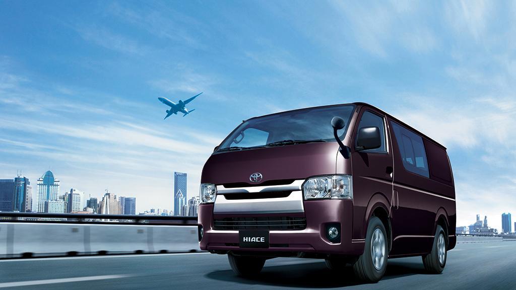 Toyota 本週推介『Hiace 衝前去車展』