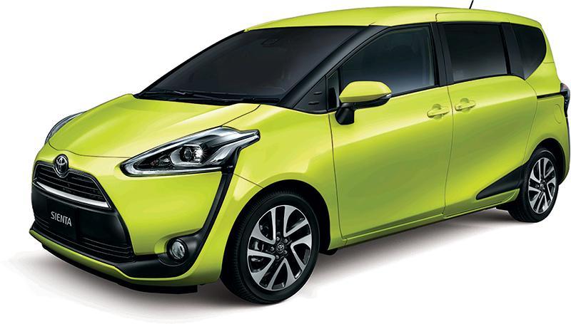 Toyota 年度上車筍盤 Sienta 及 Spade 登陸又一城車展