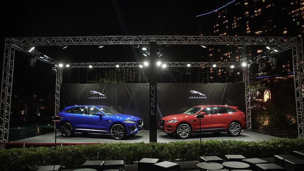 全新 Jaguar F-PACE 跨類型 SUV 跑車