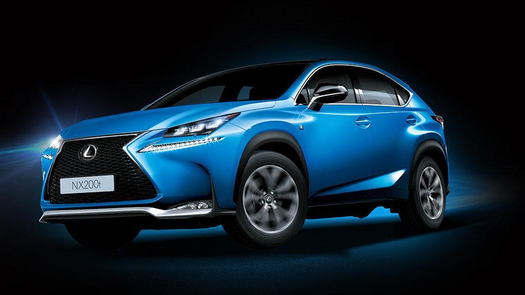 本週末「Lexus Motor Show」NX200t F SPORT 車展震撼價