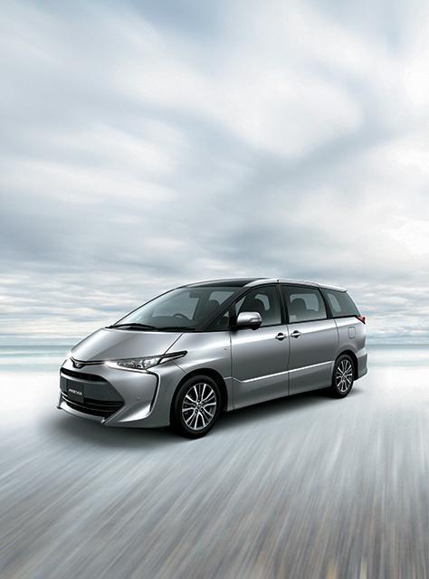 馭型於豪 Toyota Previa 緊接日本公開發售