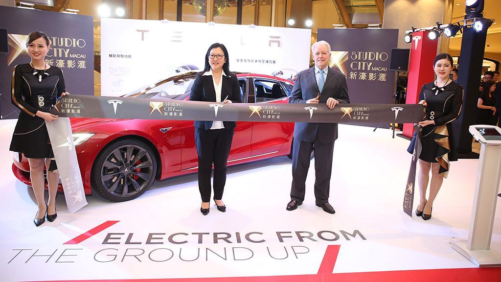 Tesla 於新濠影滙 開設澳門首個 Supercharger 超級充電站
