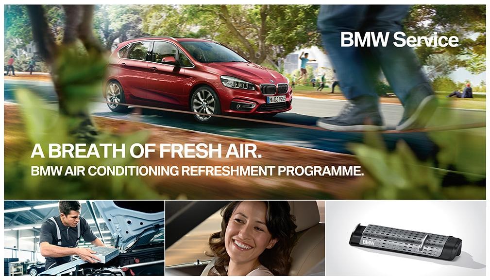 A Breath of Fresh Air. BMW Air Conditioning Refreshment Programme