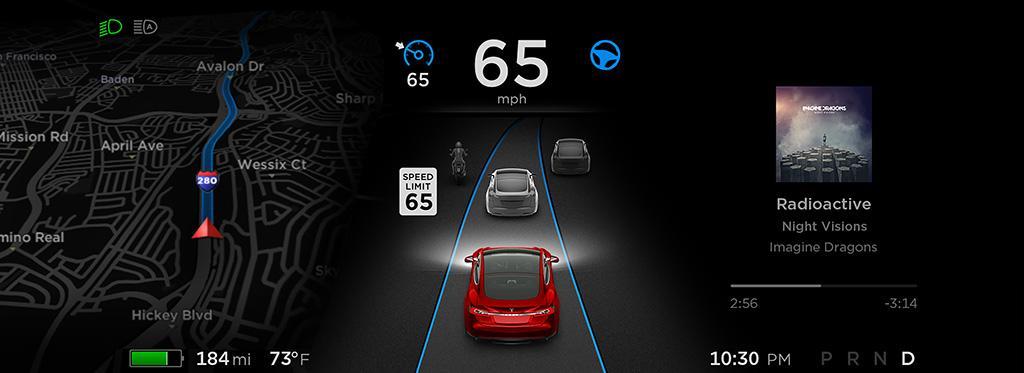 Autopilot 自動輔助駕駛再度升級:通過雷達看世界