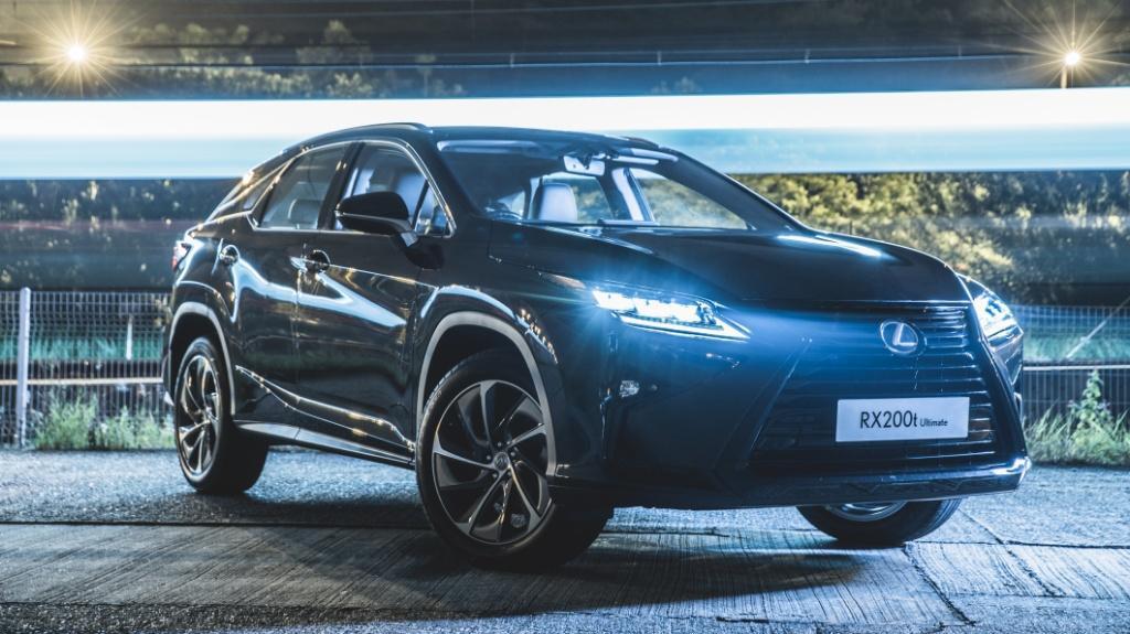 Lexus RX Techno Black 以 $574,500 公開發售