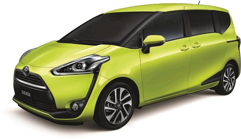Toyota 元朗陳列室獨家優惠  Sienta Limited Edition 限定價 $199,920