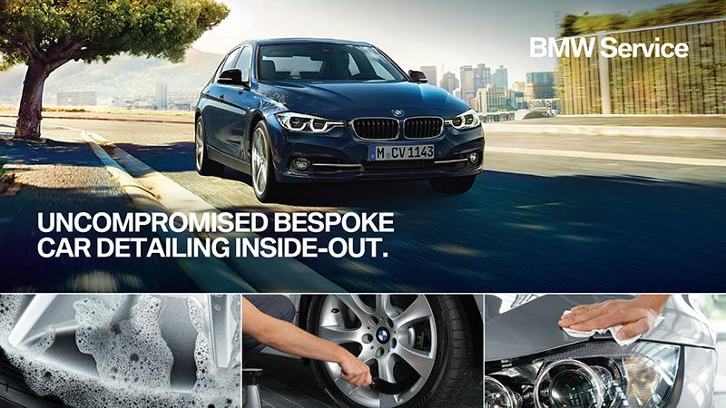 BMW Bespoke 全方位汽車美容護理服務