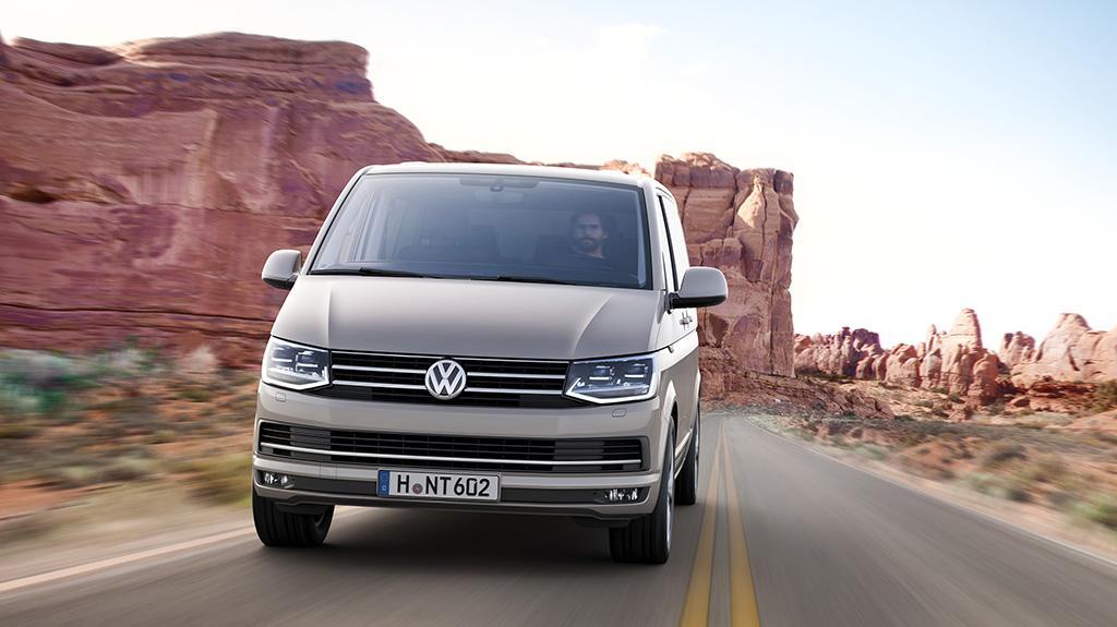 Volkswagen 全新歐盟六型 T6 Transporter 商旅車