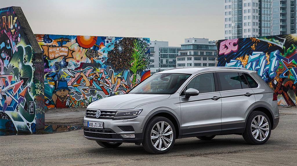 Euro NCAP 2016: Volkswagen Tiguan 安全系數同級最強