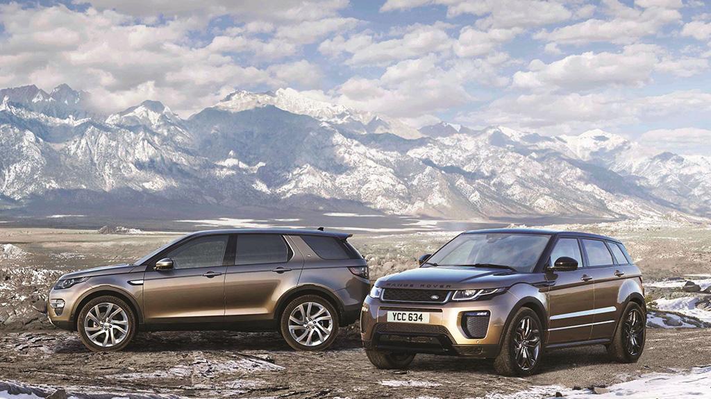Jaguar Land Rover 躍動新禧開年車展