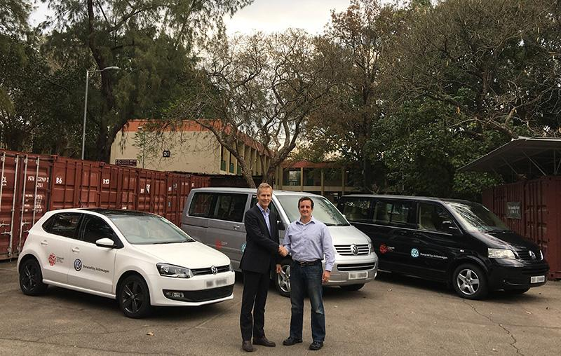 Volkswagen 捐贈汽車支持國際十字路會