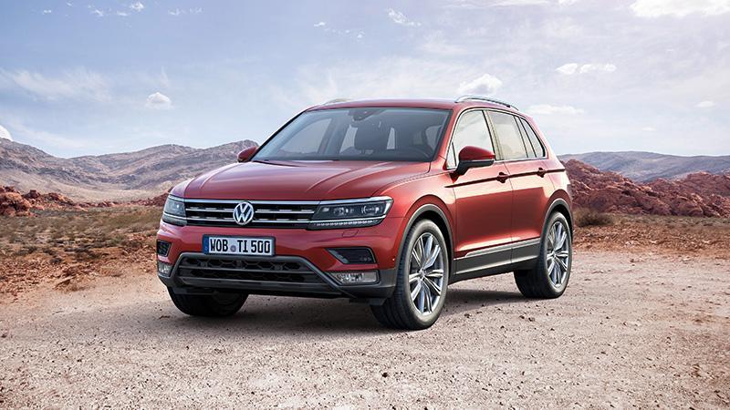 Volkswagen Tiguan 入選 2017 全球年度風雲汽車最後三強