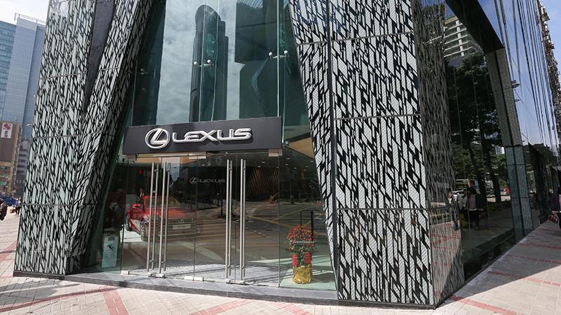 全新 Lexus 旗艦店本年度首個頂級大型車展