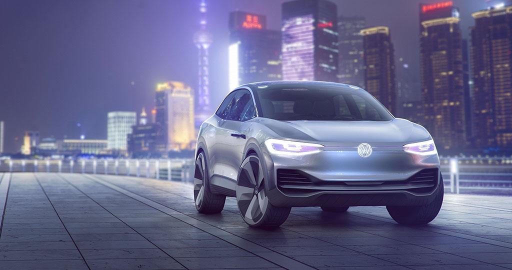 Volkswagen 零排放 I.D. CROZZ 兼具 SUV 和轎跑元素