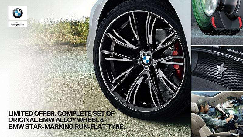 一絲不苟『完美 Look』 BMW 原廠合金輪圈與 Run-Flat Tyre