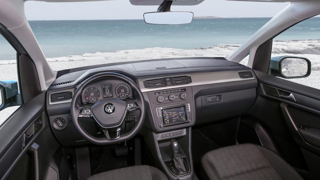 Volkswagen MPV 加入新成員Caddy Kombi 7 人家庭車