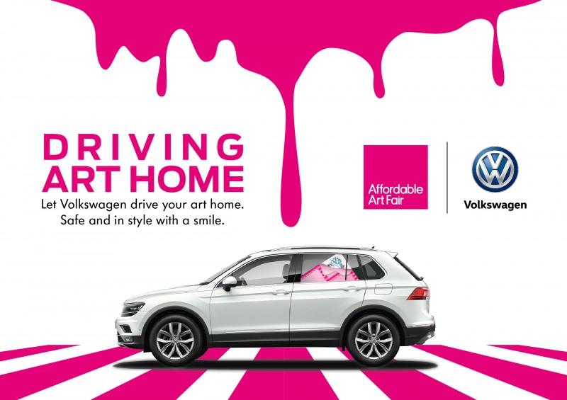 Volkswagen 成為第五屆香港 Affordable Art Fair 合作夥伴
