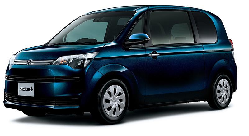 "本週末 Toyota Spade ""BLUE EDITION"" 登場車展"